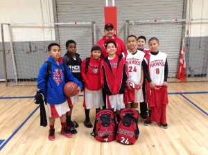 Coach Art and the 12u Whittier Hawks