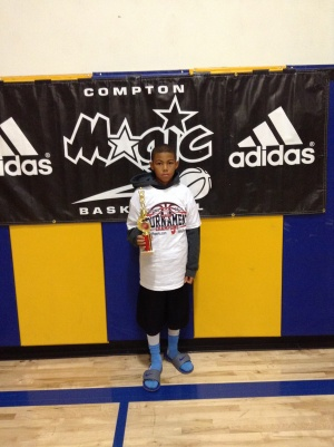 10u/4th Grade - Most Valuable Player - DJ Jackson - Inland Force