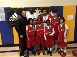 Coach Eddie and the 2nd Place West Valley Bulls