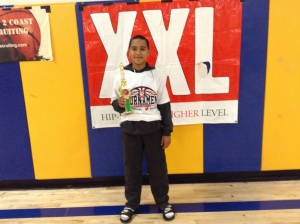 11u/5th Grade - Tournament Most Valuable Player- CJ Stroud - Inland Force