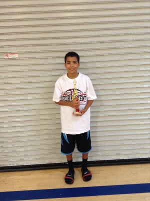 12u/6th Grade Most Valuable Player - Pierce Sterling - Riverside Matrix