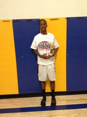14u Most Valuable Player - Marvin Bragg - The Basketball Factory
