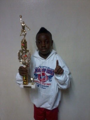 11u MVP Akoye Hudson