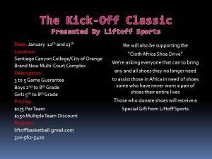 Kick-Off Classic