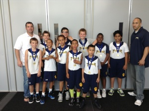 4th Grade/10u - 3rd Place - Corona Thunder