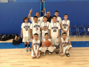 5th Grade Runner-Up Montebello Mavs