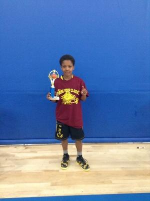 5th Grade MVP Kolby Kimbourgh