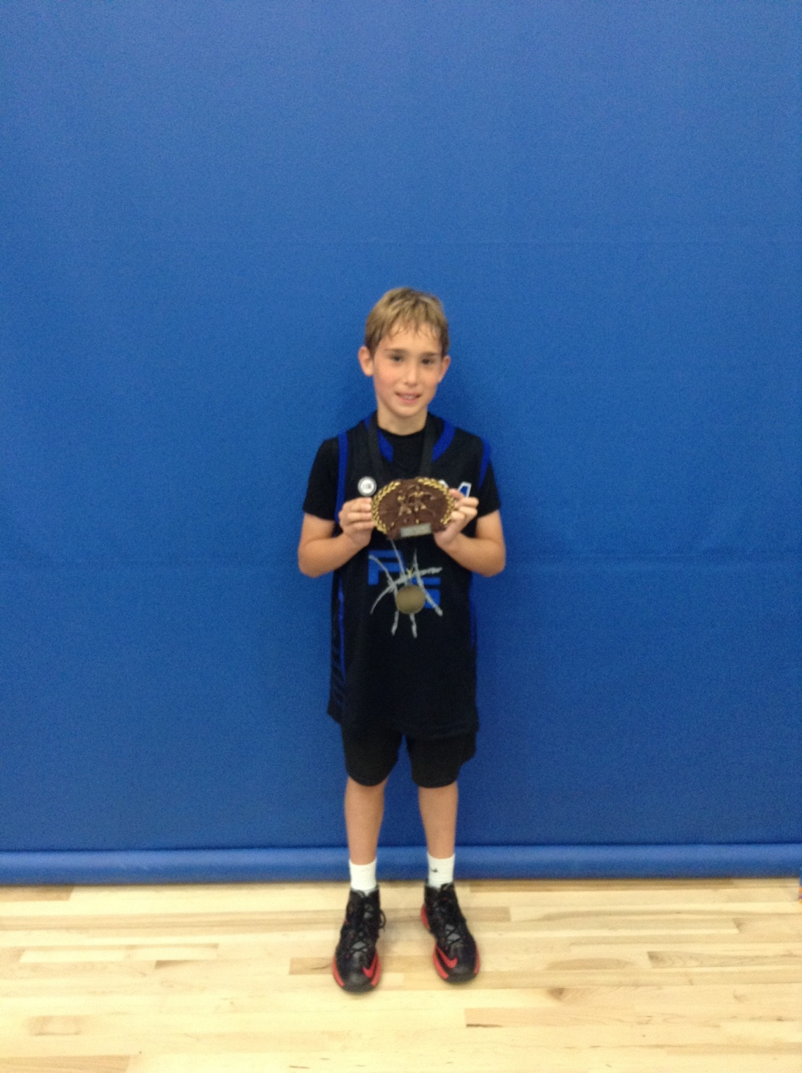 4th Grade MVP John Belardi/Pro Skills Elite
