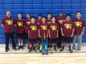 7th Grade Champions Walnut Black Mambas