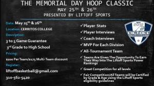 THE MEMORIAL DAY HOOP CLASSIC