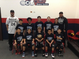 11u/5th Grade Gold Division Champions  SoCal Pride