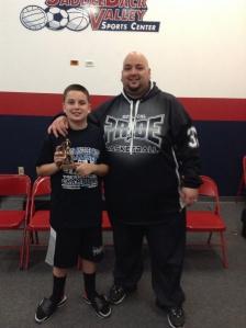11u/5th Grade Gold Division MVP  SoCal Pride