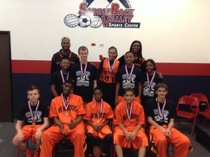 13u/7th Grade Gold Division Runner-Up West Valley Warriors (Arizona)