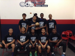14u/8th Grade Gold Division Champions Gardena Wolfpack