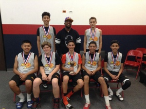 14u/8th Grade Gold Division Runner-Up NOC