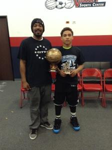 13u/7th Grade Elite Division  MVP EJ Jackson City Stars
