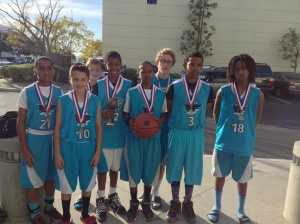 13u/7th Grade Elite Division  Runner-Up The Basketball Factory