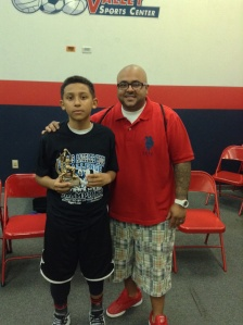 12u/6th Grade Gold Division  MVP Nick Bowden  City Stars