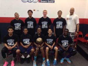 14u/8th Grade  Elite Division Champions Prodigy