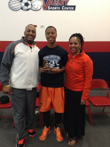 13u/7th Grade Silver Division MVP  Julion Trotter - West Valley Warriors