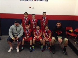 11u/5th Grade Gold Division Runner-Up Whittier Hawks