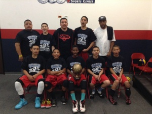 13u/7th Grade Gold Division Champions Whittier Hawks