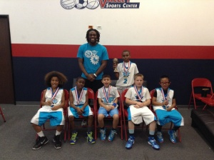 10u/4thGrade  Runner-Up The Basketball Factory