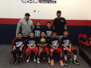 10u/4th Grade Champions Whittier Hawks