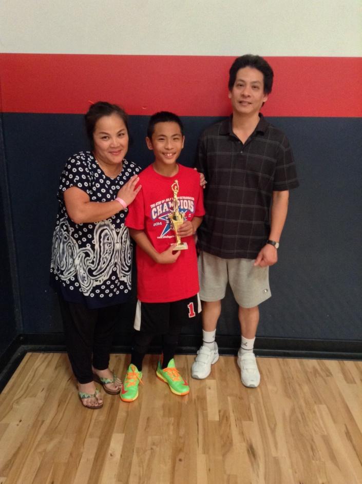 12u/6th Grade MVP  Huyton Le - Game Face