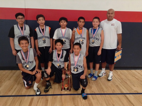 12u/6th Grade Runner-Up Hoop Town