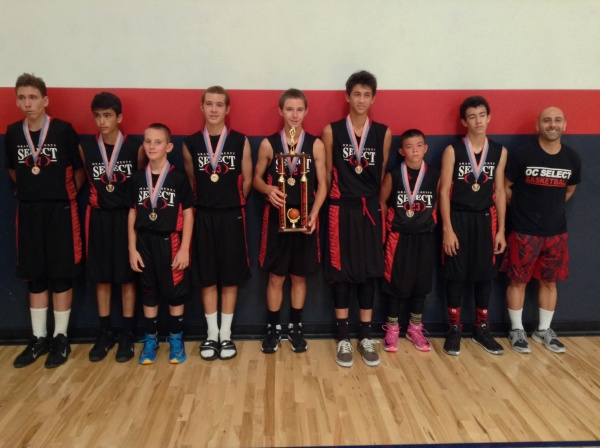 7th Grade/13u Runner-Up OC Select