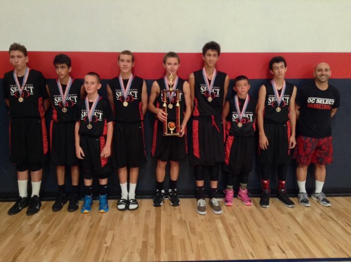 7th Grade/13u Runner-Up OC Select