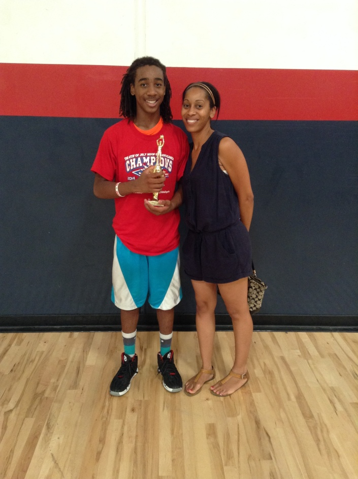 7th Grade/13u Tournament MVP  Cameron Dashiell  The Basketball Factory
