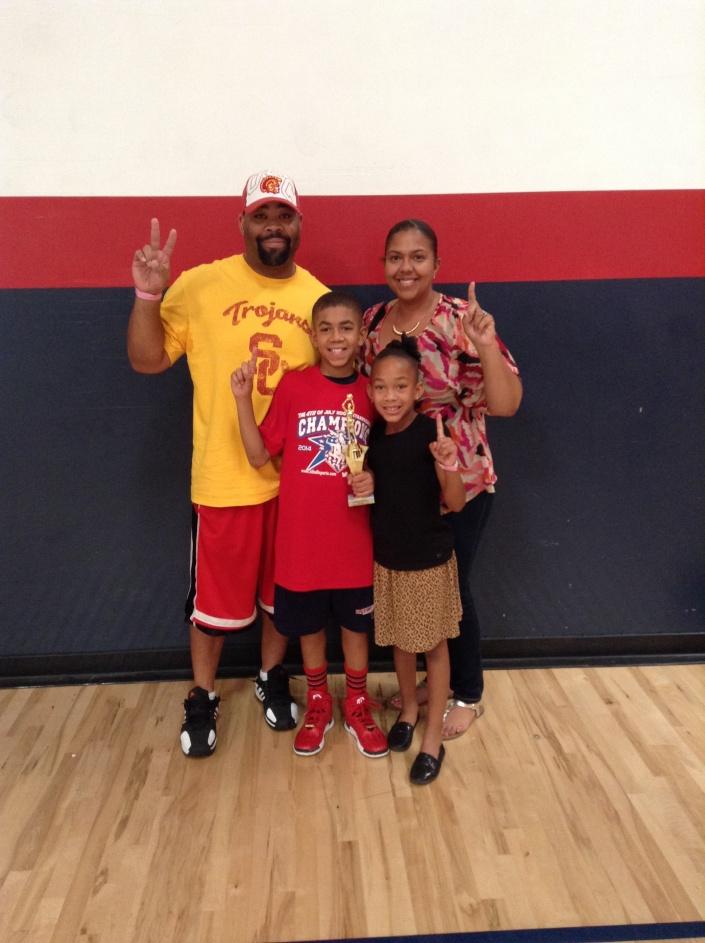 5th Grade/11u Tournament MVP AJ Watkins - Prodigy