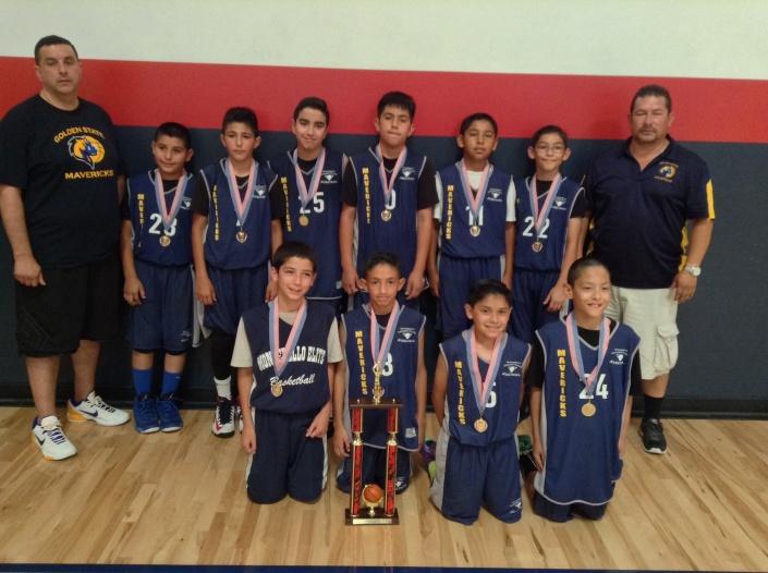 5th Grade/11u Runner-Up Golden State Mavs