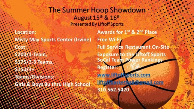 2015 The Summer Hoop Showdown